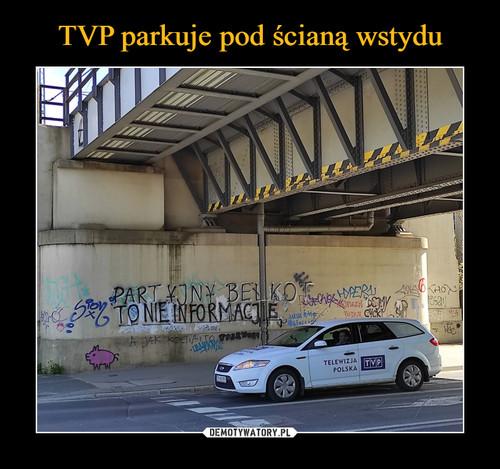 TVP parkuje pod ścianą wstydu