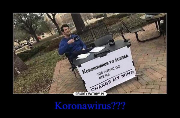 Koronawirus??? –