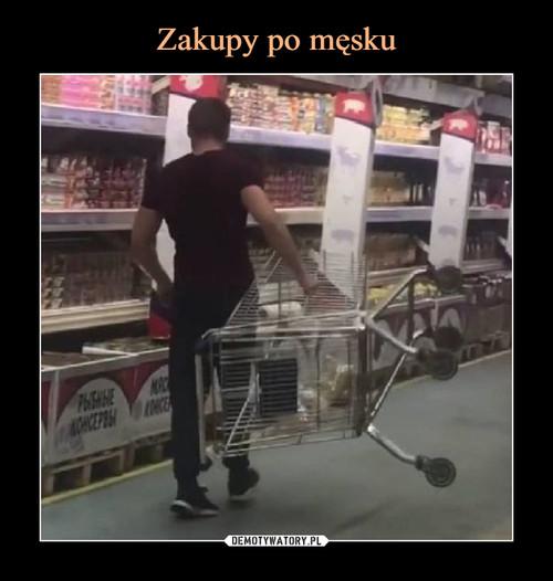 Zakupy po męsku
