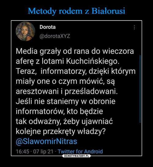 Metody rodem z Białorusi