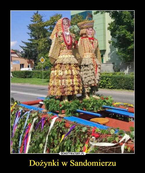 Dożynki w Sandomierzu