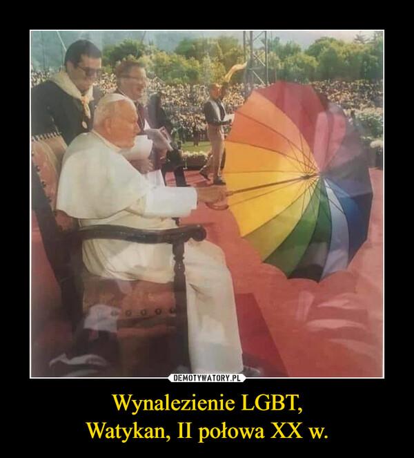 Wynalezienie LGBT,Watykan, II połowa XX w. –