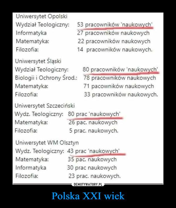 Polska XXI wiek –