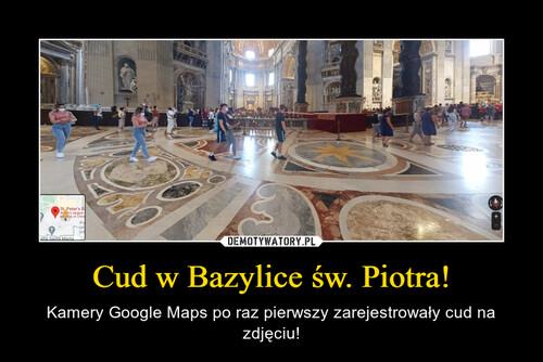 Cud w Bazylice św. Piotra!
