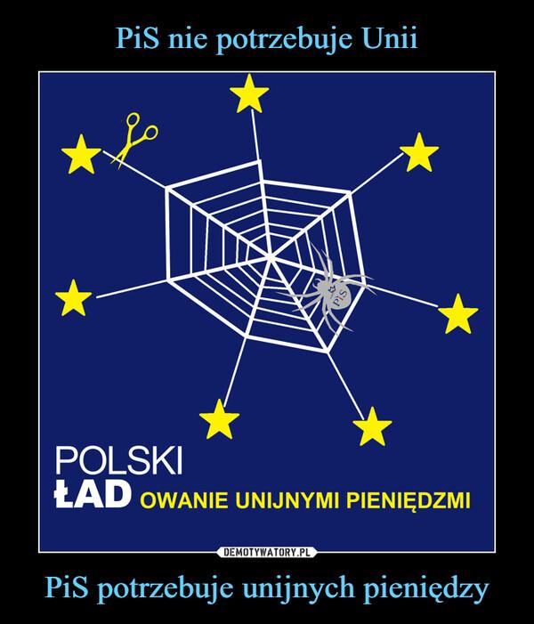 PiS potrzebuje unijnych pieniędzy –